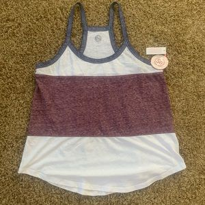 Tops - Red, White and Blue Tank
